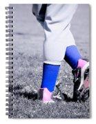 Ball Player Spiral Notebook