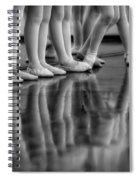 Ballet Class Spiral Notebook