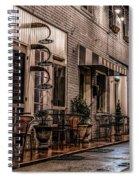 Bank Street Downtown Bristol Spiral Notebook