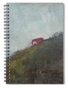 Barn On The Hill Spiral Notebook