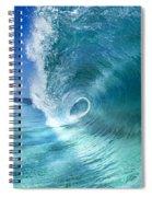 Barrel Swirl  -  Triptych  Part 2 Of 3 Spiral Notebook