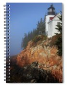 Bass Harbor Lighthouse, Acadia National Park Spiral Notebook