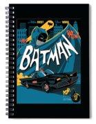 Batman Art Spiral Notebook