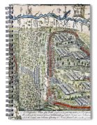 Battle Of Lake George, 1755 Spiral Notebook