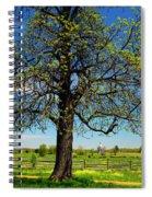 Battlefield Landscape Spiral Notebook