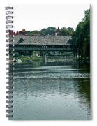 Bavarian Covered Bridge Spiral Notebook