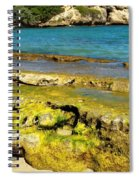 Beach At Dominican Republic Spiral Notebook