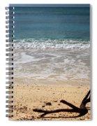 Beach At Grand Turk Spiral Notebook