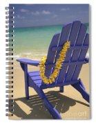 Beach Chair Spiral Notebook