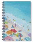 Beach Painting - Summer Love Spiral Notebook