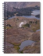 Beartooth Highway Cirques Spiral Notebook