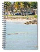 Beautiful Beach And Ocean Scenes In Florida Keys Spiral Notebook
