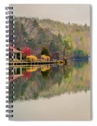Beautiful Landscape Near Lake Lure North Carolina Spiral Notebook