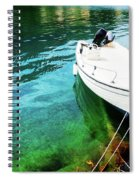 Greek Vacations Spiral Notebook