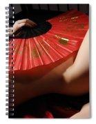 Beautiful Naked Woman Spiral Notebook