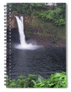 Beautiful Rainbow Falls 2 Spiral Notebook