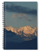Beautiful Scenic View Of The Mountains In Italy  Spiral Notebook