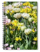 Beautiful Spring Flowers Spiral Notebook
