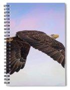 Beauty In Flight Spiral Notebook