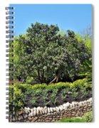 Beauty In The Garden Spiral Notebook