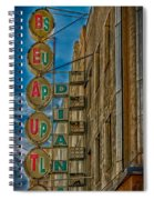 Beauty Supply Spiral Notebook