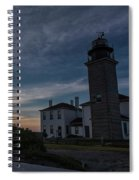 Beavertail Lighthouse Spiral Notebook