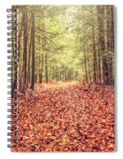 Before The Last Leaf Falls Spiral Notebook