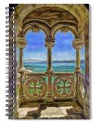 Belem Arches  Spiral Notebook