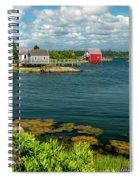 Bell Island Spiral Notebook