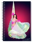 Belly Dancer  Spiral Notebook