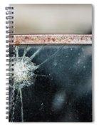 Belmont Broken Truck Window 1571 Spiral Notebook