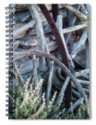 Belmont Broken Wagon Wheels 1649 Spiral Notebook
