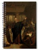 Belshazzar's Feast Spiral Notebook