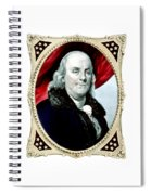 Ben Franklin - Two Spiral Notebook