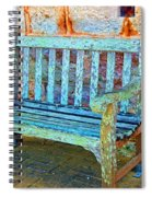 Benched Spiral Notebook
