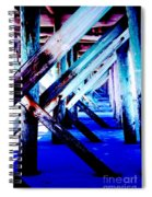 Beneath The Docks Spiral Notebook
