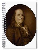 Benjamin Franklin - Three Spiral Notebook