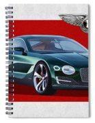 Bentley E X P  10 Speed 6 With  3 D  Badge  Spiral Notebook