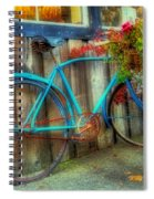 Bicycle Art 1 Spiral Notebook