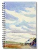 Big Alberta Sky Spiral Notebook