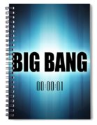 Big Bang Spiral Notebook