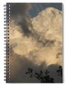 Big Cloud Spiral Notebook