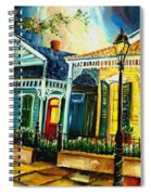 Big Easy Neighborhood Spiral Notebook