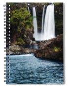 Big Island Waterfall Spiral Notebook