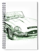 E Type Spiral Notebook