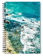 Big Sur California Coastline On Pacific Ocean Spiral Notebook
