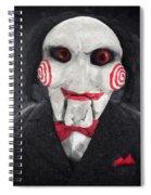 Billy The Puppet Spiral Notebook