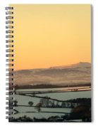 Black Mountains And Vale Of Usk Spiral Notebook