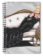 Black Swan Spiral Notebook