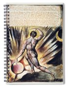 Blake: Jerusalem, 1804 Spiral Notebook